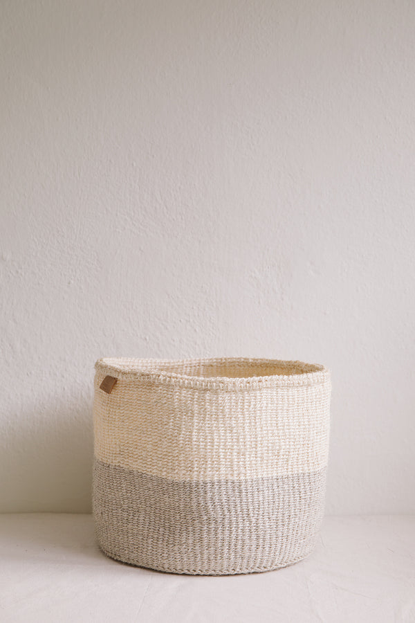 Colourblock Grey Basket
