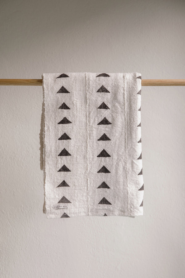 Triangle Mud Cloth Blanket