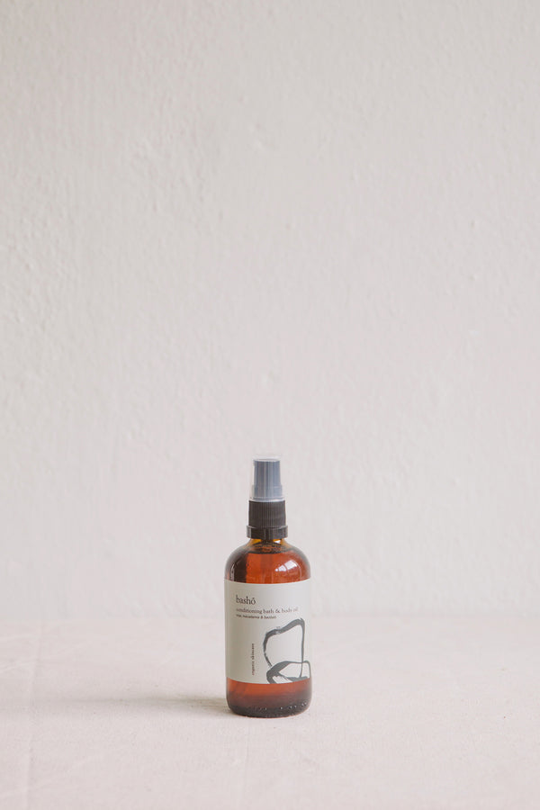 Bashō Organic Conditioning Bath + Body Oil
