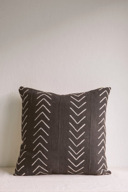 Esther Chevron Mud Cloth Cushion