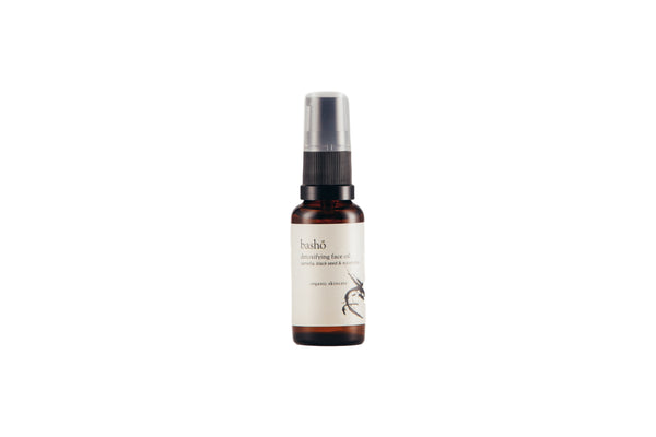 Bashō Organic Detoxifying Face Oil