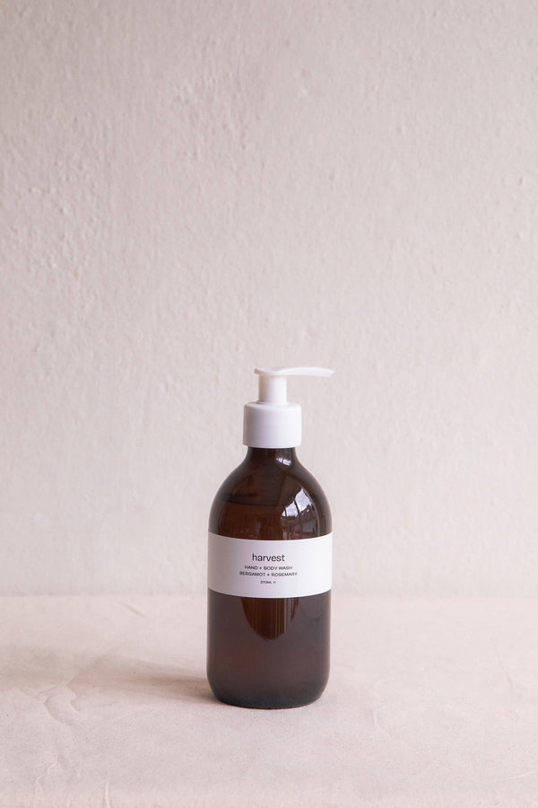Bergamot + Rosemary Hand / Body Wash