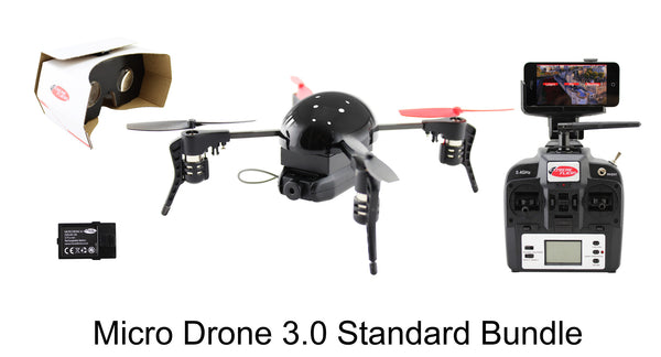 Micro Drone 3.0 Combo Pack  (Camera+FPV Bundle)
