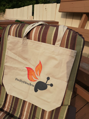 FireFly Branded Eco Cotton Tote Bag With Logo