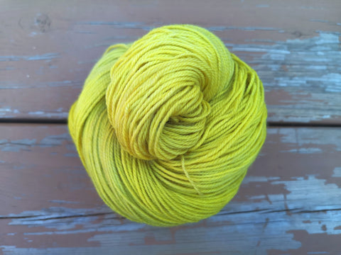 Lemongrass Fingering Weight Sock Yarn