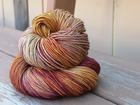 Smoking Gun Hand Dyed Cashmere Yarn