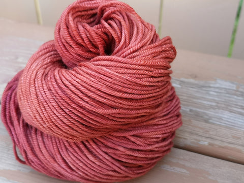 Blood Orange Posh Worsted Weight Extrafine Merino Wool
