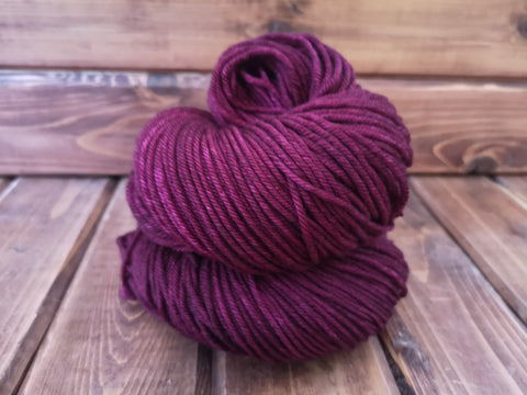 Rosewood Posh Worsted Weight Extrafine Merino Wool