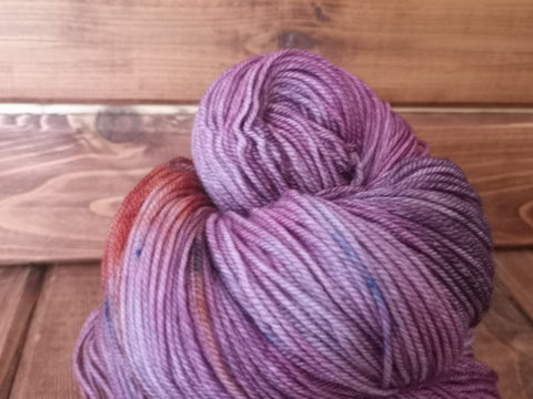 Complacent Fingering Cash Hand Dyed Yarn