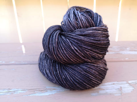 Charcoal Posh Worsted Weight