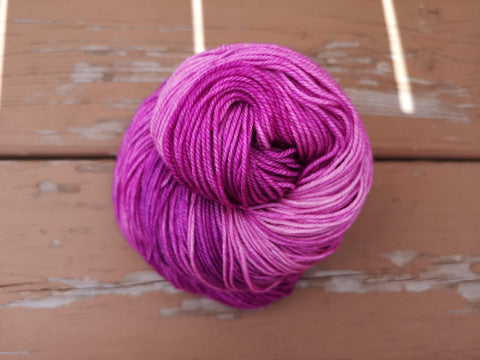 Triple Berry Hand Dyed Cashmere Yarn
