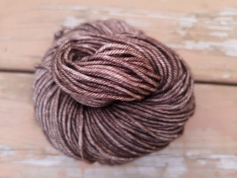 Walnut Posh Worsted Hand Dyed Yarn