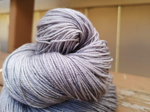 Overcast Fingering Weight Sparkle Yarn
