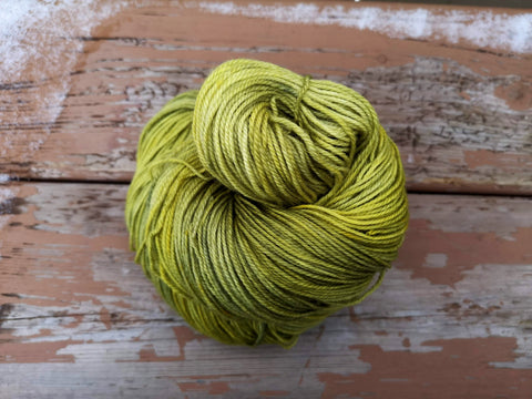 Lemon Balm Fingering Weight Sock