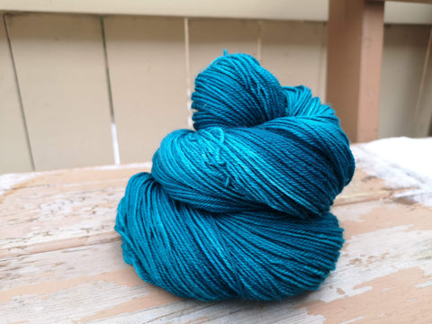 Nacreous Fingering Weight Sock