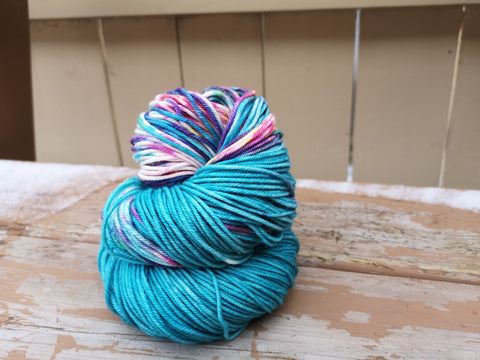 Wild Dreams May Yarn Club Posh Worsted Weight Extrafine Merino Wool