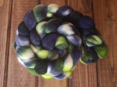 Northern Lights BFL Wool Spinning Fibre Combed Top