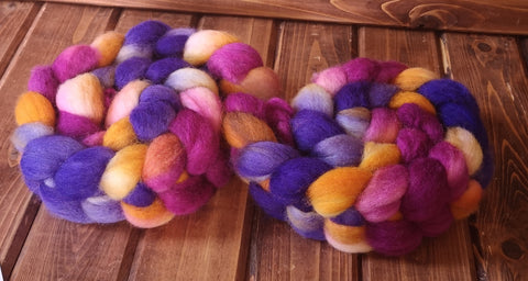 Destiny BFL Wool Spinning Fibre Combed Top