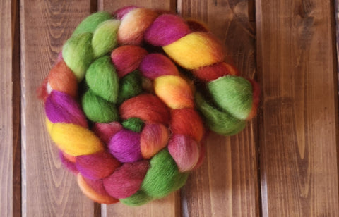 Bloomin' BFL Wool Spinning Fibre Combed Top