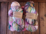 Tie Dye #604 Fingering Weight Sock