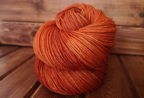 Saffron Fingering Weight Sock