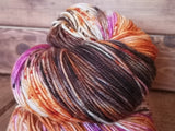 Witchy Woman Hand Dyed Cashmere Yarn