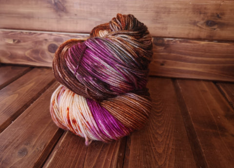 Witchy Woman DK Weight Hand Dyed Wool Yarn