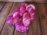 Dyed By Josh-Pinky Posh Worsted Weight Extrafine Merino Wool