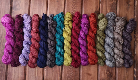 Cashmere Mini Skeins Fingering Weight Yarn