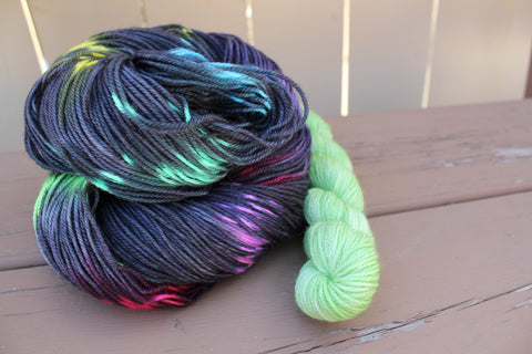 Burst Sock Set Full Skein and a Mini