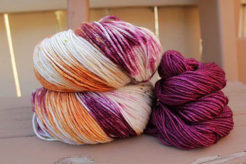 Meandering Prairies/Merlot Shawl Kit