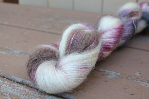 Chai Latte Downy Mohair Silk Lace Weight