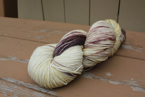 Marshmallow Hot Chocolate Fingering Weight Yarn