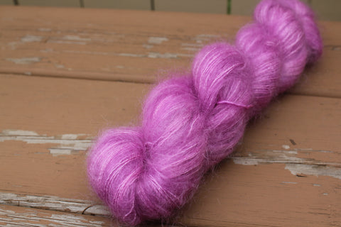 Radicchio Downy Mohair Silk Lace Weight