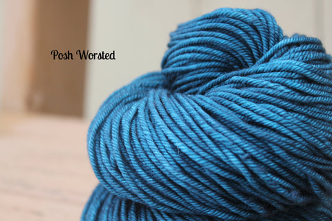 Infatuation Posh Worsted Hand Dyed Yarn