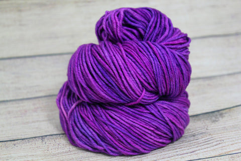 Radicchio Posh Worsted Hand Dyed Yarn