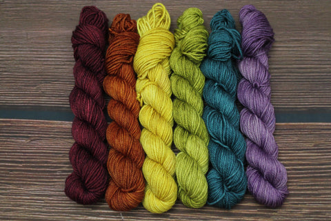 Kiss The Rainbow Cashmere Mini Skein Set