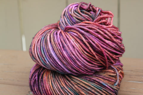 Crazy In Love Posh Worsted Hand Dyed Yarn