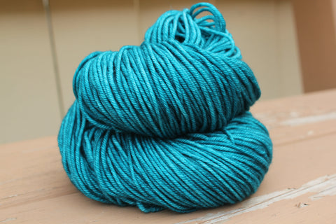 Nacreous Posh Worsted Hand Dyed Yarn