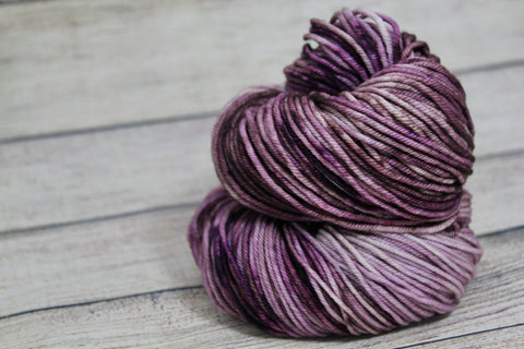 Demure Posh Worsted Hand Dyed Yarn
