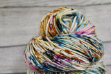 Frozen Vapour Posh Worsted Hand Dyed Yarn