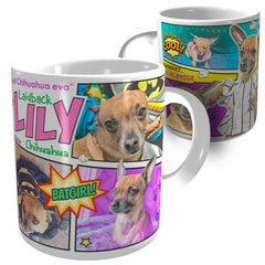 Lily Dog Mug | GioGifts