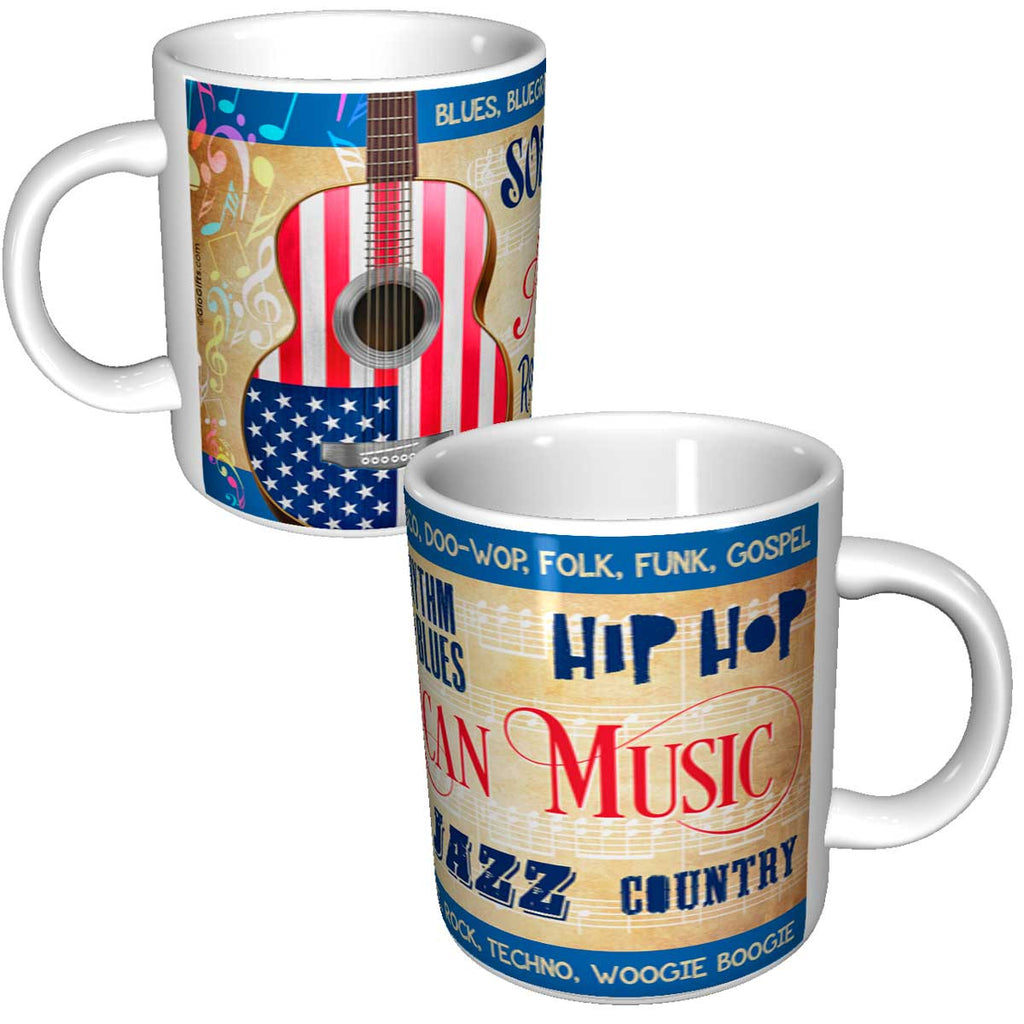 American Music Ceramic Mug - gio-gifts