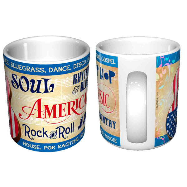 American Music Ceramic Mug | GioGifts