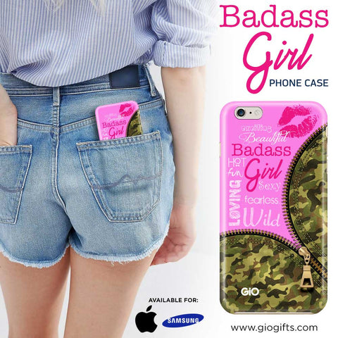 Badass Girl Phone Case | Gio Gifts