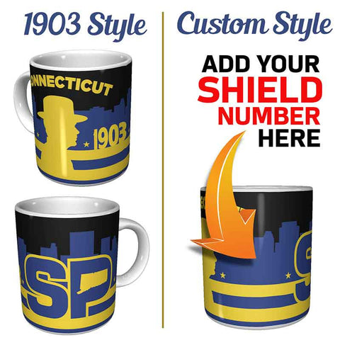 Connecticut State Police Coffee Mug | GioGifts