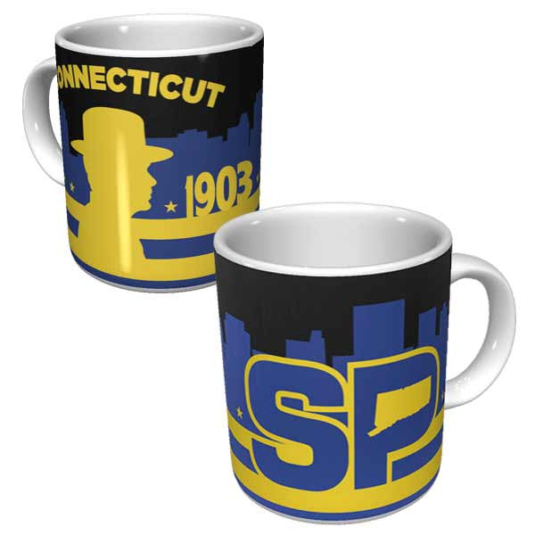 Connecticut State Police Coffee Mug - gio-gifts