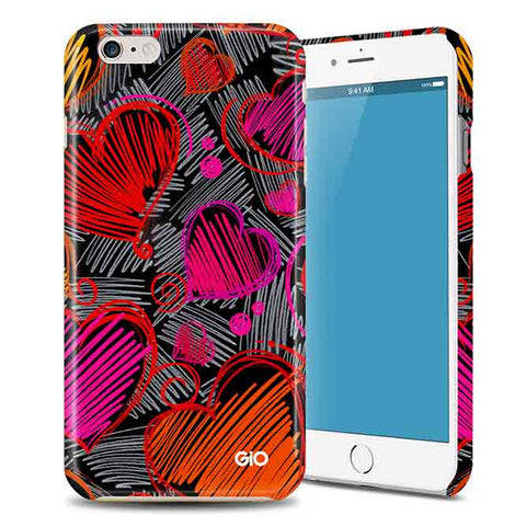 Doddle Hearts Phone Case | Gio Gifts