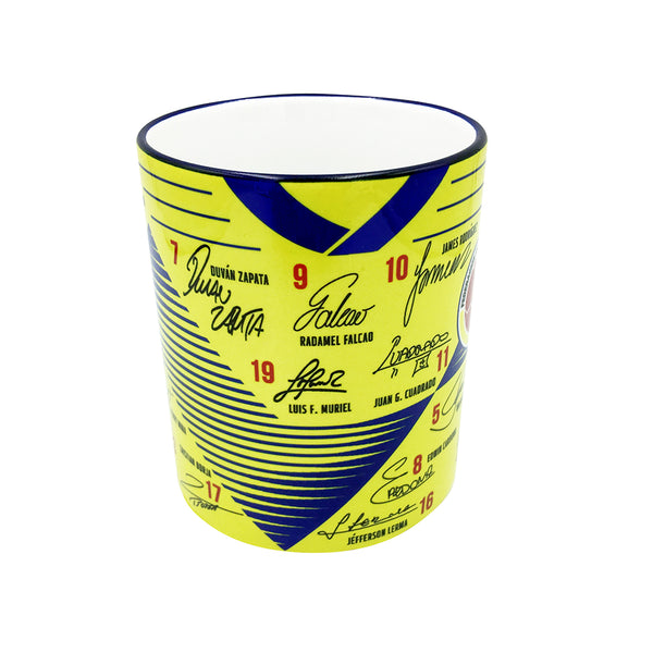 COLOMBIA Soccer Jersey Sports Collectible Mug 11 Oz. - gio-gifts