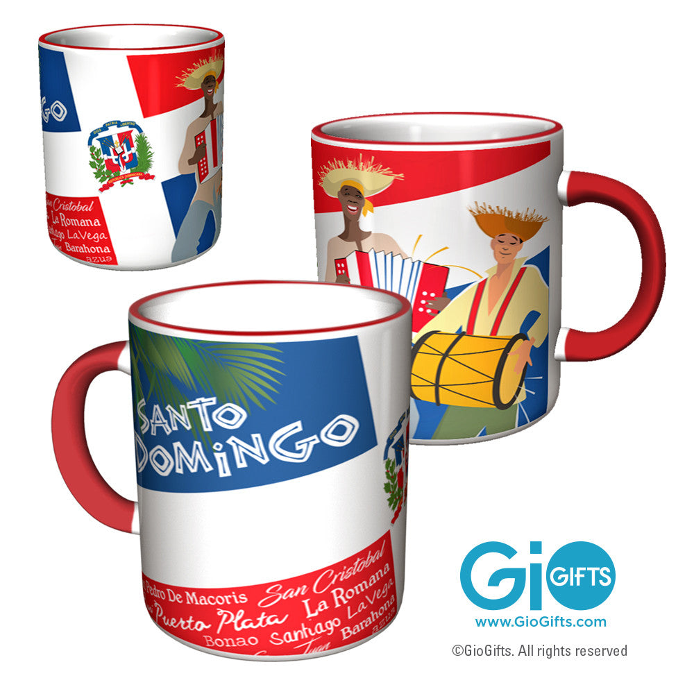 Dominican Republic Coffee Mug - gio-gifts